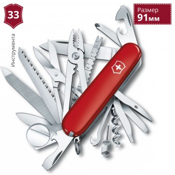 Нож VICTORINOX SWISS CHAMP 1.6795